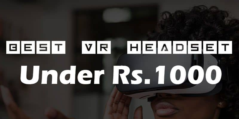 Best VR Headset Under Rs. 1000 | Quality Lens with Adjustable Head