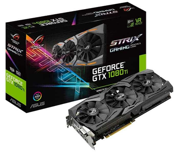 Graphics Card for gaming pc build