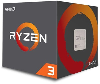 AMD Ryzen 3 1200 Processor for Gaming PC Under 40000