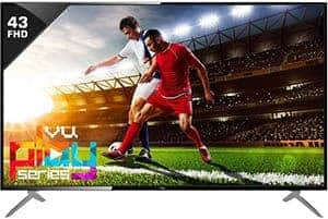 VU 43 inch Full HD LED Tv under Rs 25000