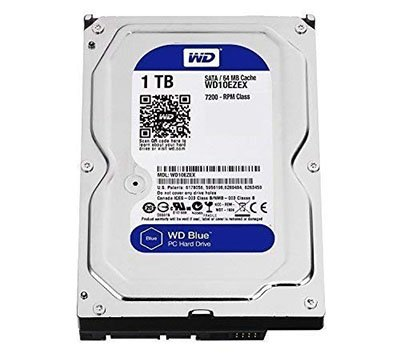 WD 1TB Internal Hard Disk Drive