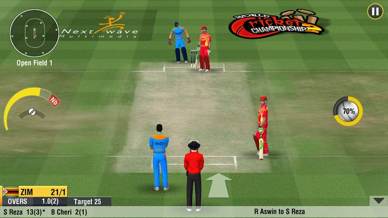 WCC 2 Cricket games