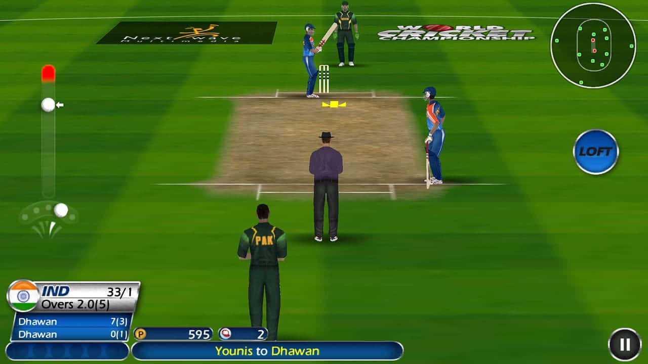 WCC Lite Cricket game