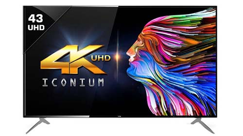 VU 43-inch (43BU113) 4K LED TV