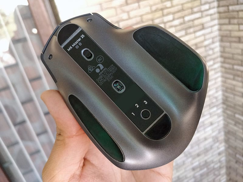Back of Logitech MX Master 2S Review