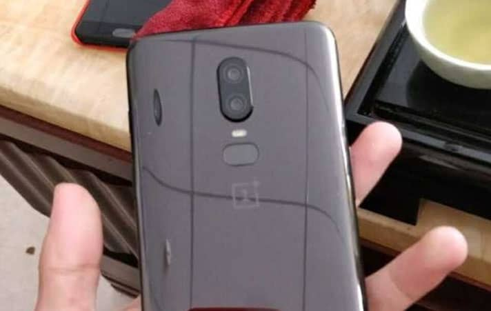 OnePlus 6 Back Side is FingerPrint Sensor