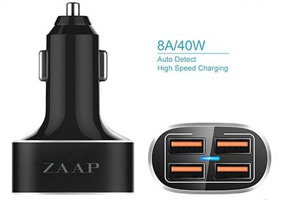 Zapp Best USB Car Charger