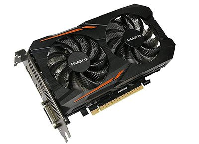 Gigabyte Geforce GTX 1050 Ti Windforce OC