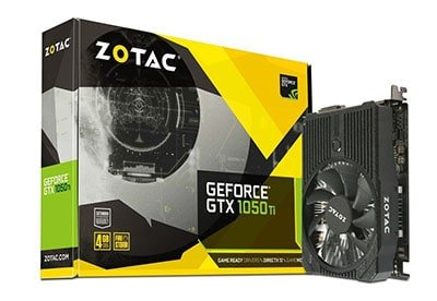 Zotac GTX 1050 Ti Best Graphics Card Under Rs 15000 in India