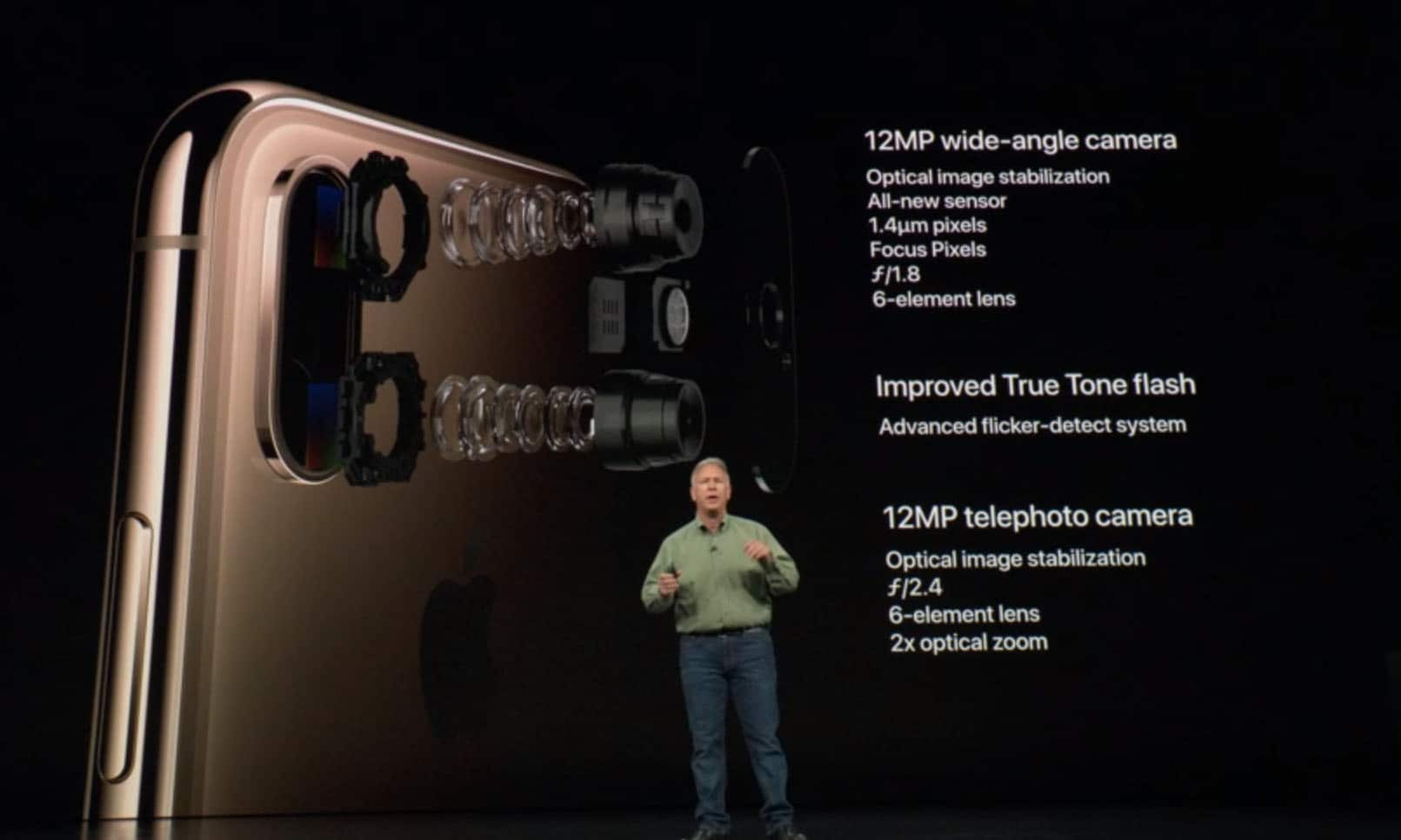 Iphone Xs and Xs Max Camera Specifications