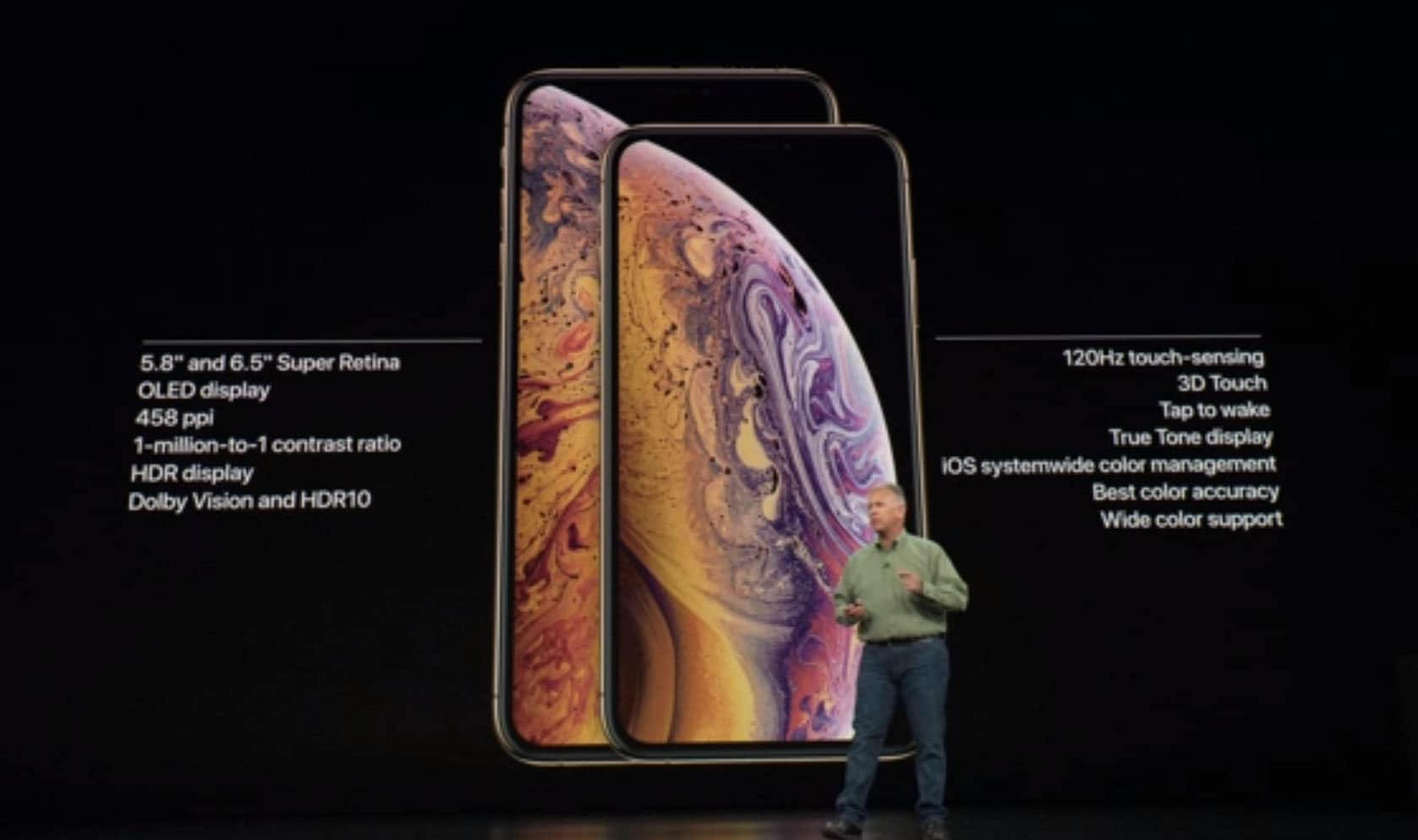 Iphone Xs and Xs Max Display Information in Detail