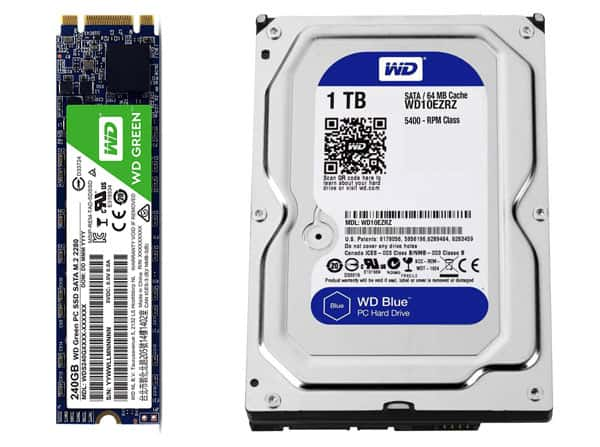 Gaming PC Build Under 70000 Storage Devices