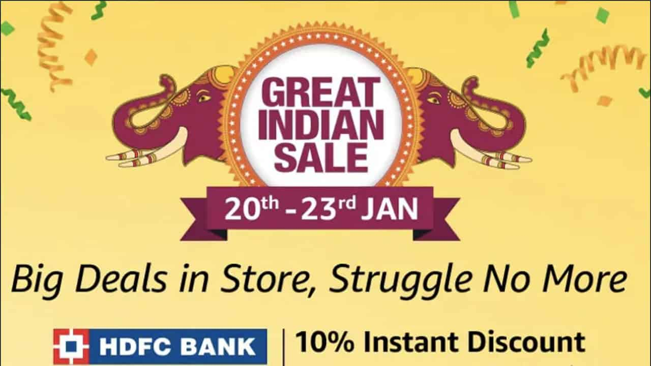 Amazon Great India Sale | Best Deals for 20 January 2019