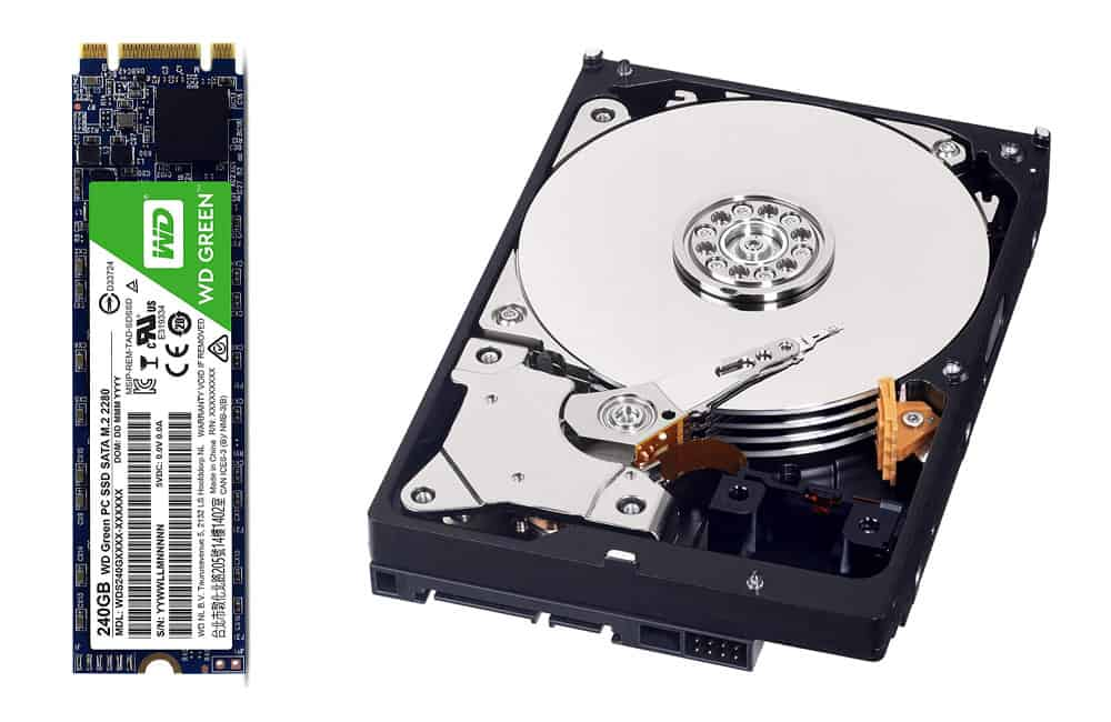 Storage HHD and SSD