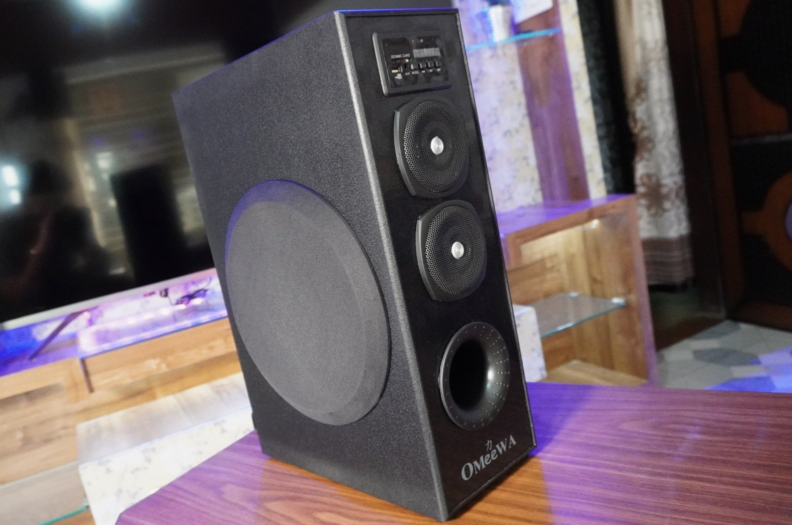 Omeewa MT 525-X Single Tower Bluetooth Speaker Review