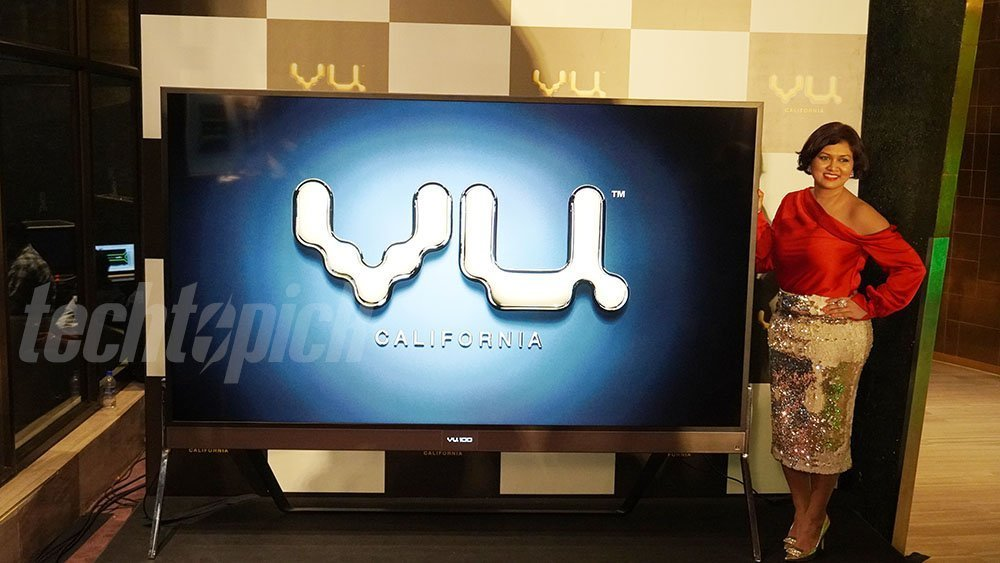 VU 100 4K IPS TV with HDR10