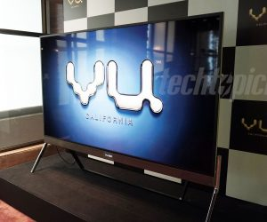 VU 100 Inch TV Front Side