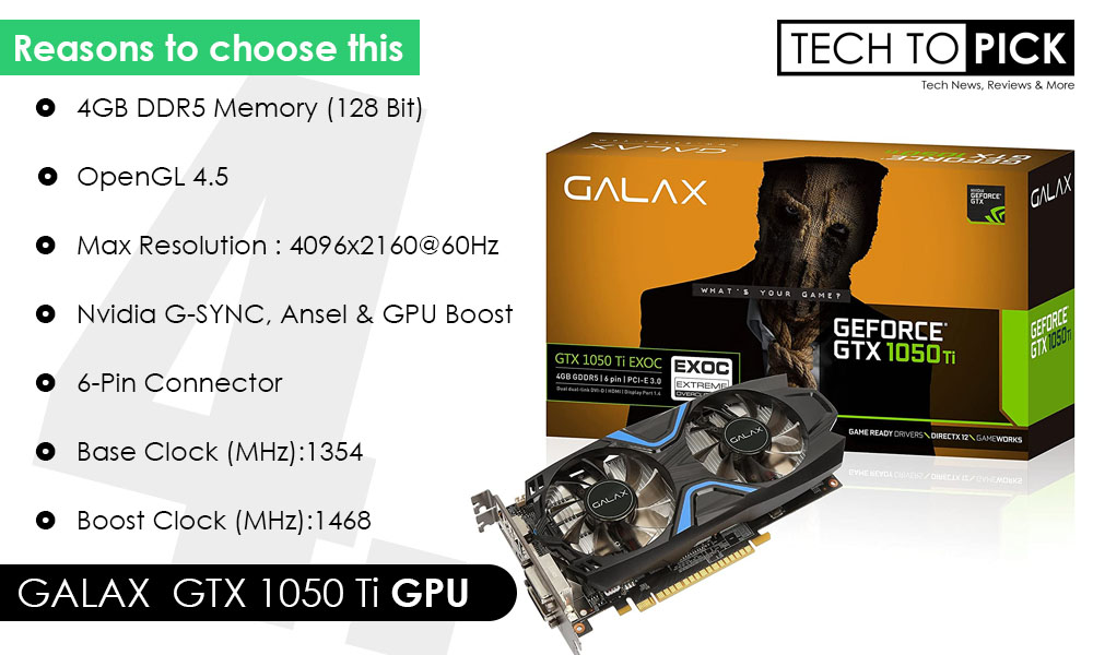 Graphics Card for Gaming PC Build Under 30000