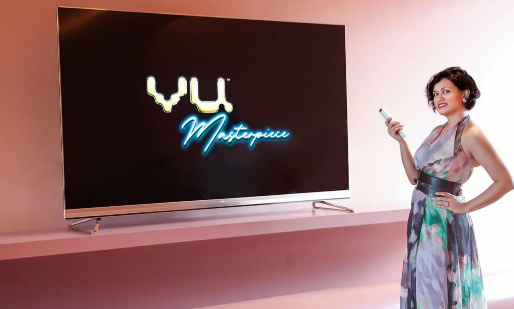 VU 85-inch masterpiece smart TV launched in india